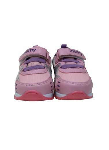 Momykids Anatomik Spor Ayakkabı Kız Bebek Işıklı Mor